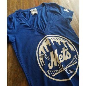 Victoria's Secret PINK Mets Baseball T-Shirt